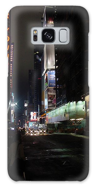 Times Square From 7th Ave Galaxy Case