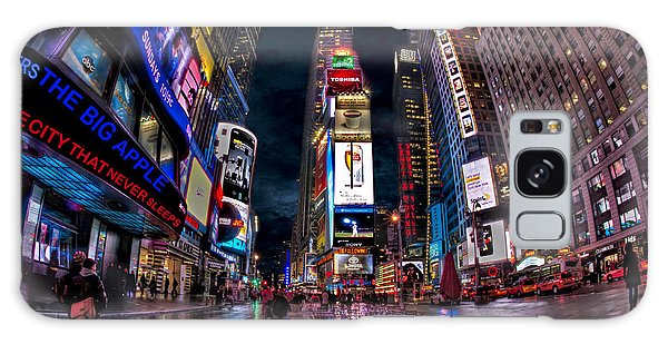 Times Square New York City The City That Never Sleeps Galaxy Case