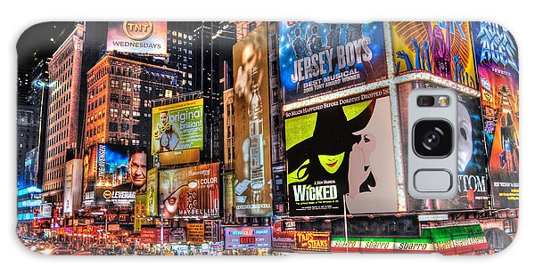 Broadway Galaxy Case - Times Square by Randy Aveille