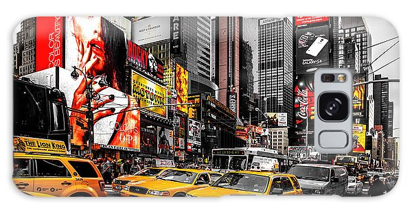 United States Galaxy Case - Times Square Taxis by Az Jackson