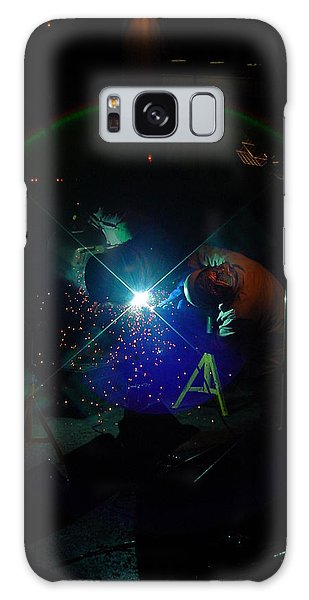Times Square Welder Galaxy Case