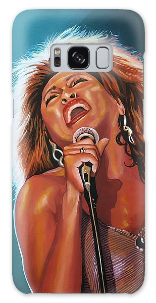 Soul Galaxy Case - Tina Turner 3 by Paul Meijering