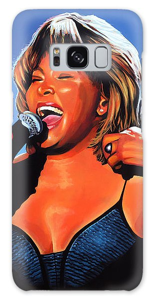 Rhythm And Blues Galaxy S8 Case - Tina Turner Queen Of Rock by Paul Meijering