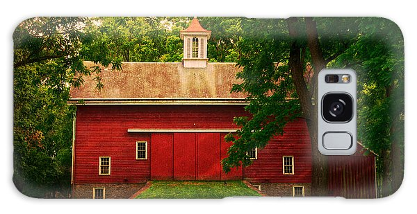 Tinicum Barn In Summer Galaxy Case