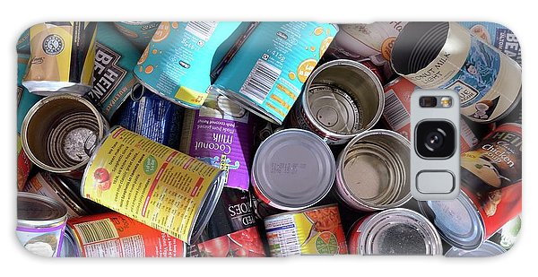 Recycle Galaxy Case - Tins For Recycling by Robert Brook/science Photo Library