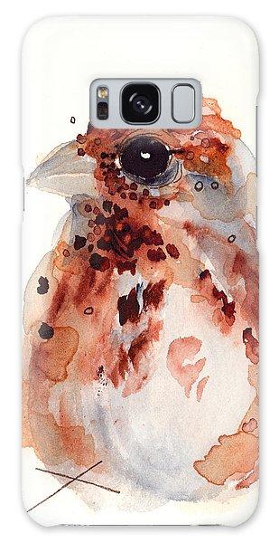 Tiny Sparrow Galaxy Case by Dawn Derman