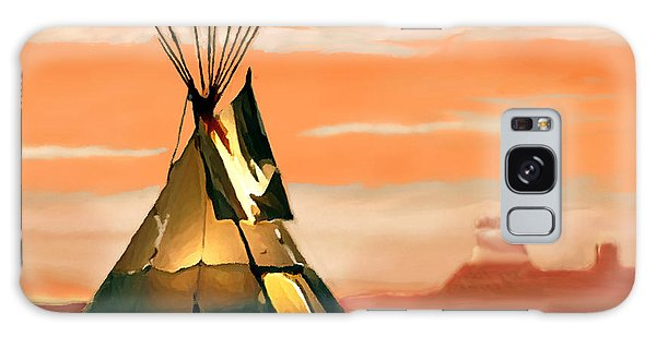 Tipi Or Tepee Monument Valley Galaxy Case