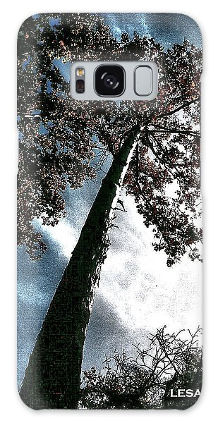 Tippy Top Tree II Art Galaxy Case