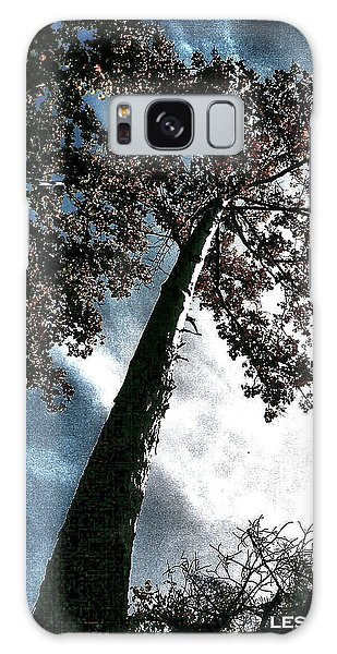 Tippy Top Tree II Art Galaxy Case