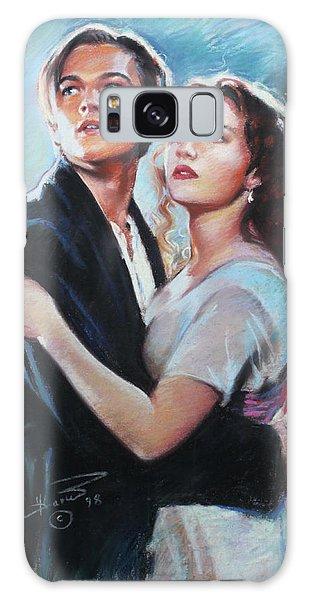 Titanic Jack And Rose Galaxy Case by Viola El