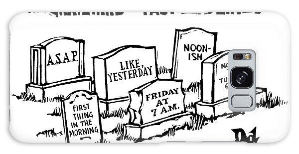 Title: Graveyard Of Past Deadlines.  A Graveyard Galaxy Case