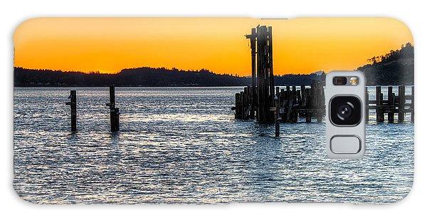 Titlow Beach Park Sunset Tacoma Wa Galaxy Case