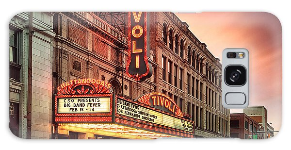 Tivoli Theatre Valentines Day Sunset Galaxy Case