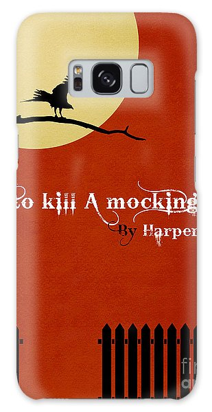 To Kill A Mockingbird Book Cover Movie Poster Art 1 Galaxy S8 Case