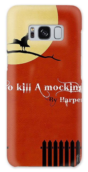 Front Galaxy Case - To Kill A Mockingbird Book Cover Movie Poster Art 1 by Nishanth Gopinathan