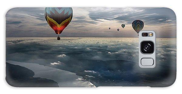 Celebration Galaxy Case - To Kiss The Sky by Heather Bonadio