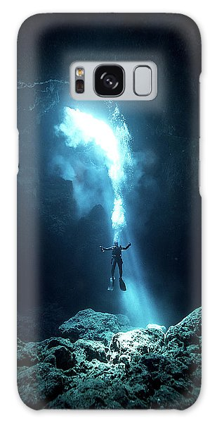Swimming Galaxy Case - To The Heaven by Charlie Jung