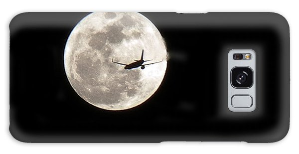 To The Moon Galaxy Case by J Anthony