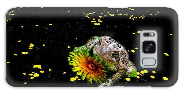 Toad In A Lions Den Galaxy Case