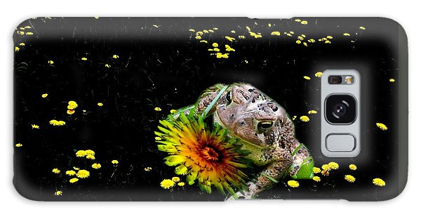 Toad In A Lions Den Galaxy Case by Mike Breau