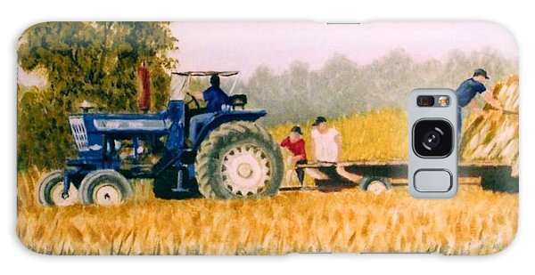 Tobacco Farmers Galaxy Case by Stacy C Bottoms