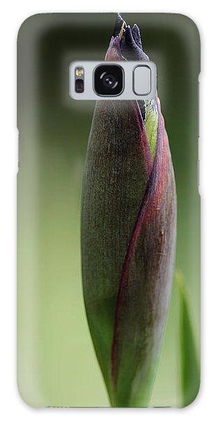 Today A Bud - Purple Iris Galaxy Case by Debbie Oppermann