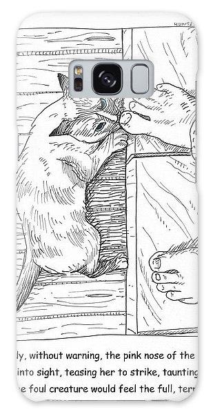 Toe Beast Galaxy Case by Steve Hunter