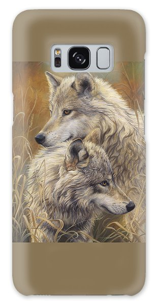 Together Galaxy Case by Lucie Bilodeau