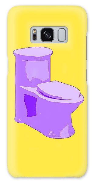 Toilette In Purple Galaxy Case