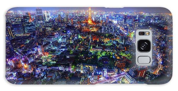 Tokyo Dreamscape Galaxy Case by Midori Chan