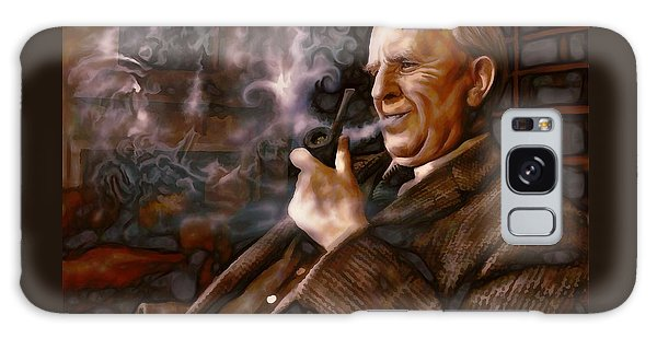 Tolkien Daydreams Galaxy Case