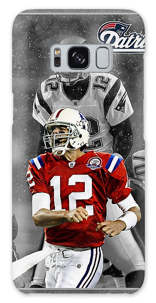 Tom Brady Patriots Galaxy Case