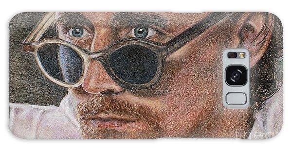 Tom Hiddleston Portrait Galaxy Case