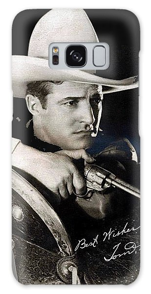 Tom Mix Portrait Melbourne Spurr Hollywood California C.1925-2013 Galaxy Case