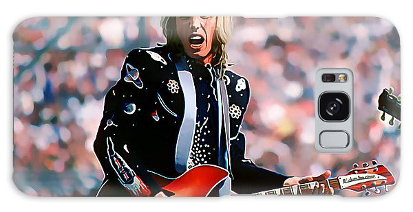 Tom Petty At Live Aid In Philadelphia Galaxy Case