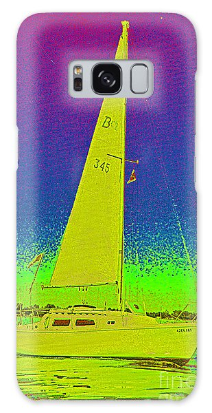 Tom Ray's Sailboat Galaxy Case by First Star Art