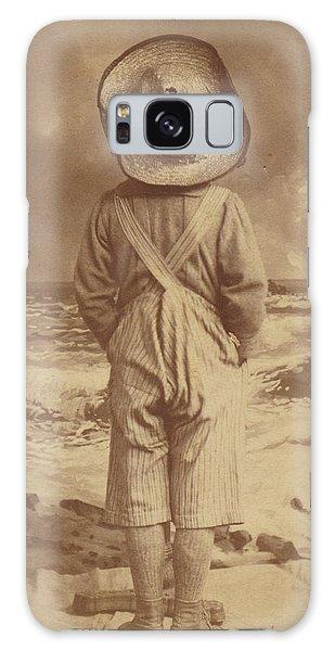 Tom Sawyer At The Beach Galaxy Case