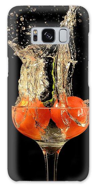 Tomato Splash Galaxy Case