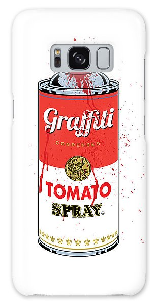Old Galaxy Case - Tomato Spray Can by Gary Grayson