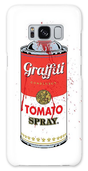 Poster Galaxy Case - Tomato Spray Can by Gary Grayson