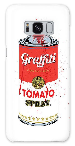 Art Nouveau Galaxy Case - Tomato Spray Can by Gary Grayson