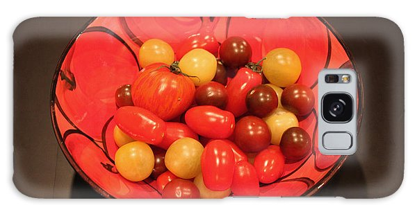 Tomatoes In Bowl Galaxy Case by Gerry Bates