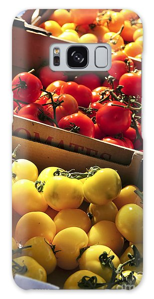 Tomatoes On The Market Galaxy Case