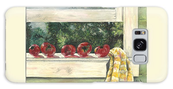 Tomatoes On The Sill Galaxy Case