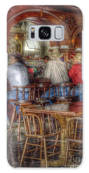 Tombstone Cowboys Galaxy Case by Sharon Seaward