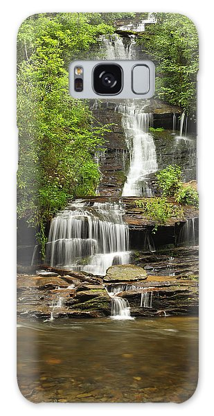 Toms Branch Falls Galaxy Case