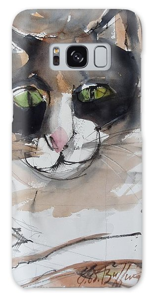 Toni's Cat  Galaxy Case