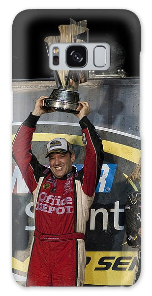 Tony Stewart Cup Champ 3 Galaxy Case by Kevin Cable
