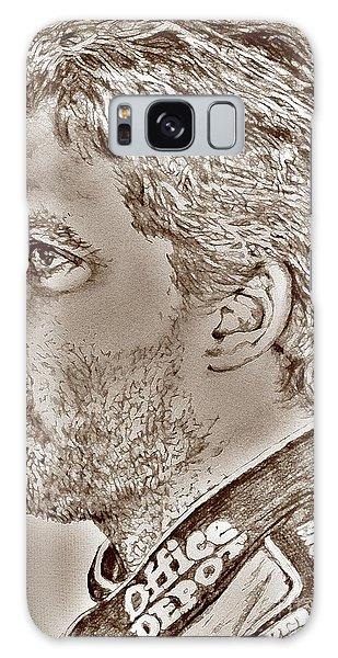Tony Stewart In 2011 Galaxy Case by J McCombie