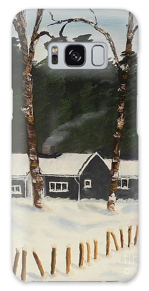 Tonys House In Sweden Galaxy Case by Pamela  Meredith